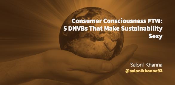 Consumer Consciousness FTW, Blog