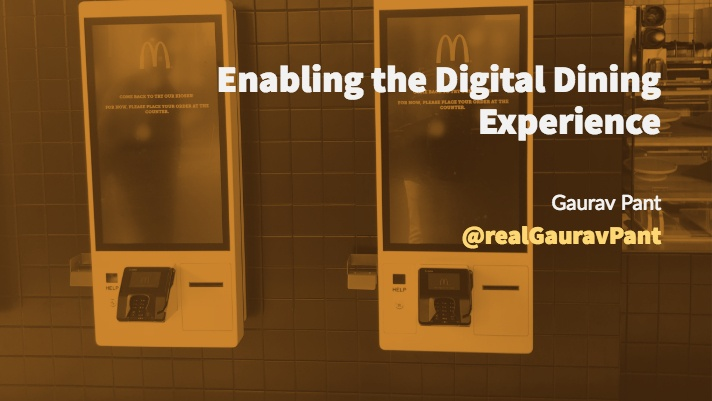 Enabling the Digital Dining Experience