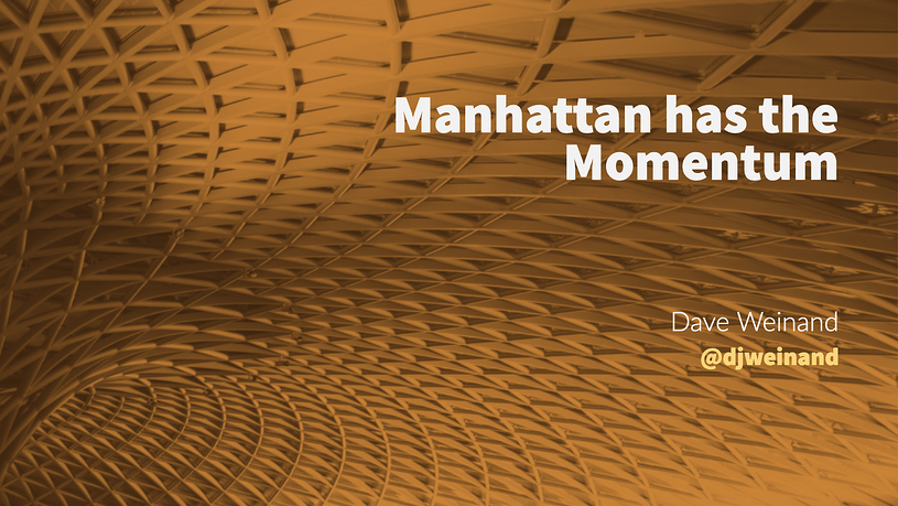 Manhattan has the Momentum, Blog, Incisiv