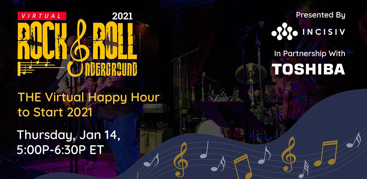Virtual Rock & Roll Underground 2021