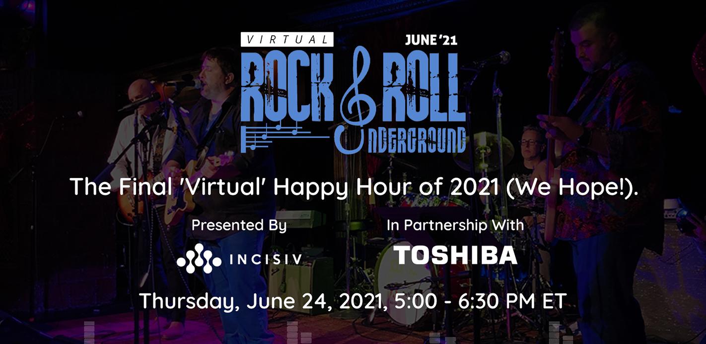 Virtual Rock & Roll Underground June 2021