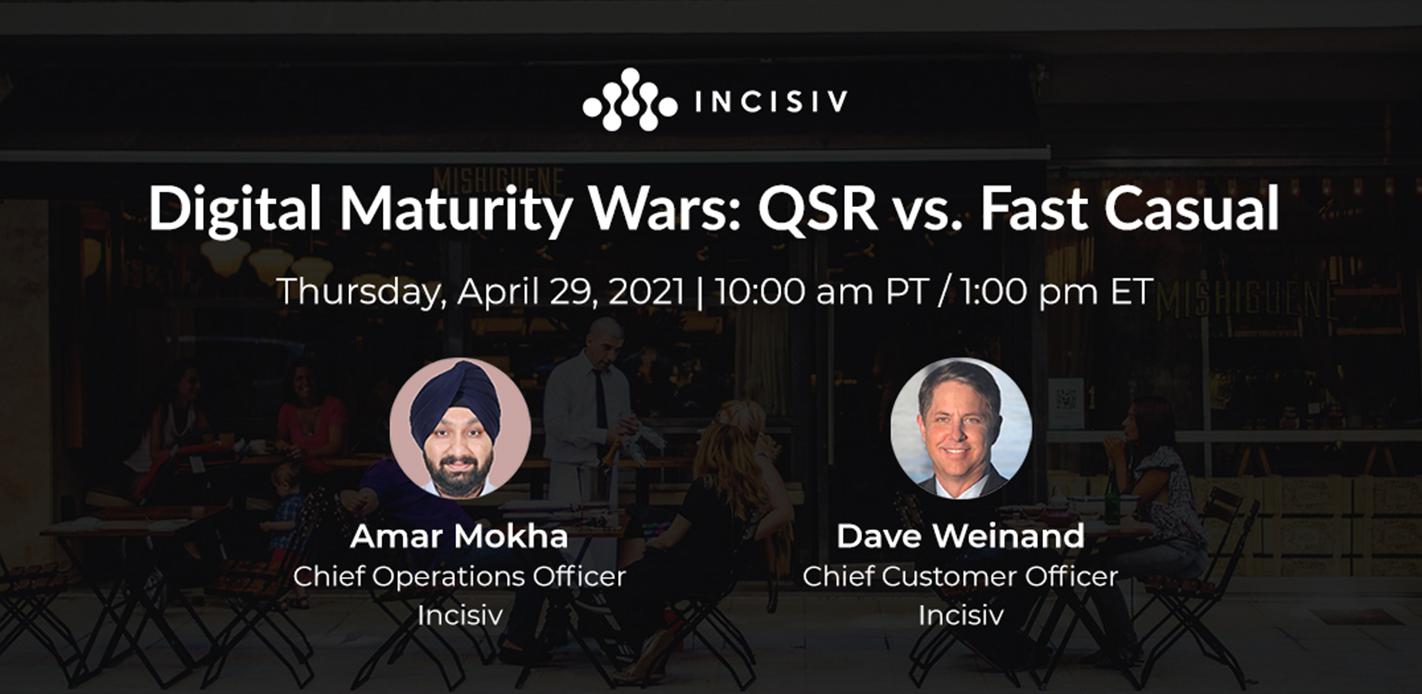 Digital Maturity Wars: QSR vs. Fast Casual