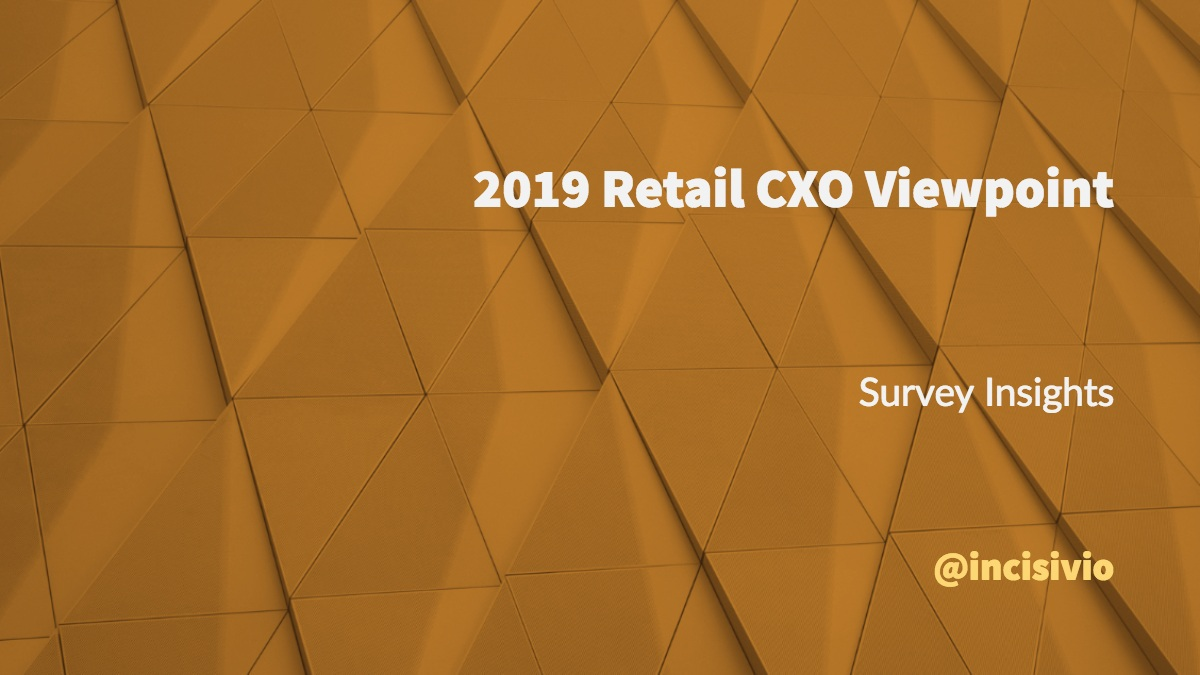 2019 Retail CXO Viewpoint