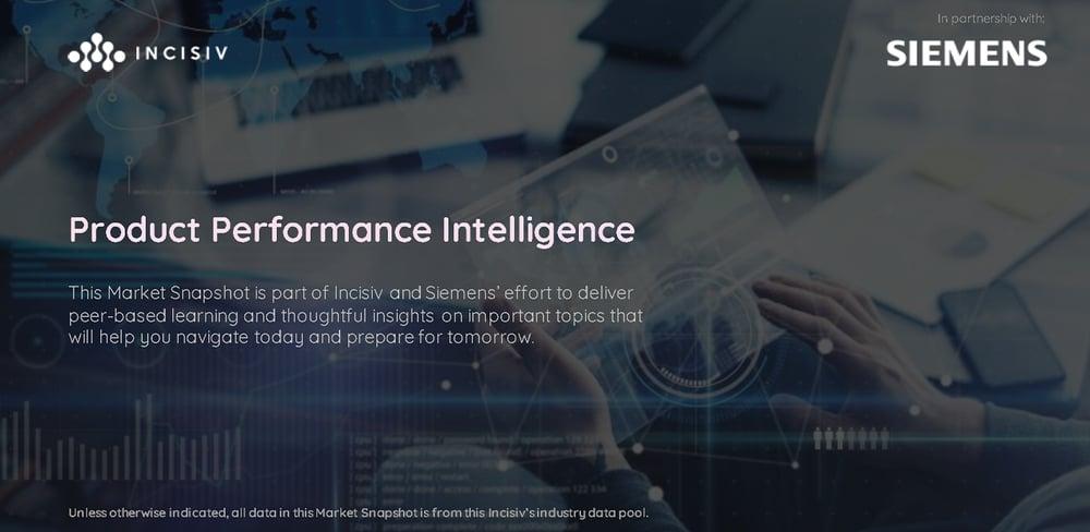 Product Performance Intelligence