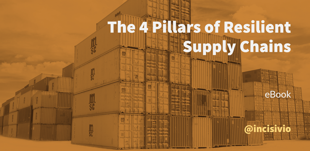 The 4 Pillars of Resilient Supply Chains.