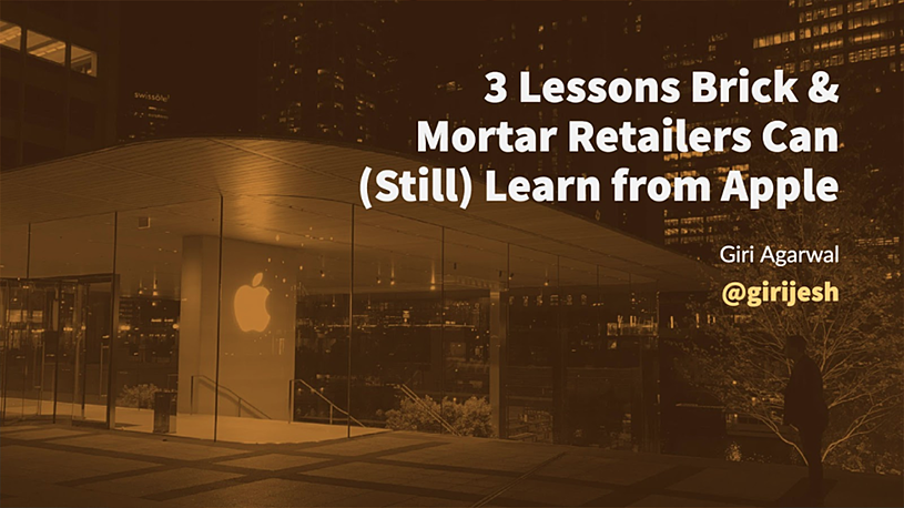3 Lessons Brick & Mortar Retailers Can (Still) Learn from Apple