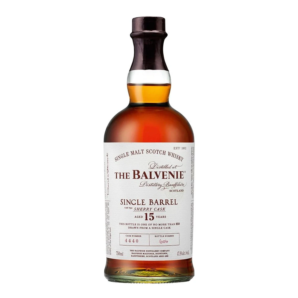 The Balvenie 15 Year Old Single Barrel